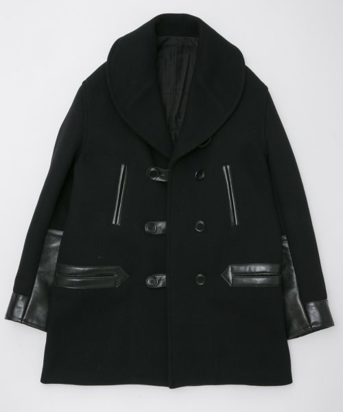 <img class='new_mark_img1' src='https://img.shop-pro.jp/img/new/icons20.gif' style='border:none;display:inline;margin:0px;padding:0px;width:auto;' />RAGTIME MIDDLE LENGTH MACKINAW  COAT