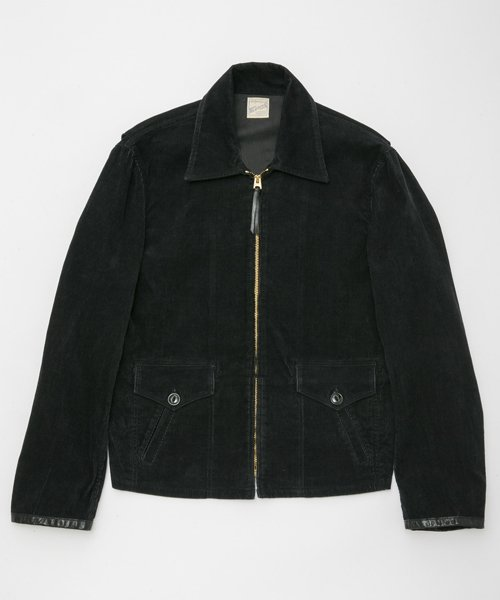RAGTIME CORDUROY SPORTS JACKET with embroidery