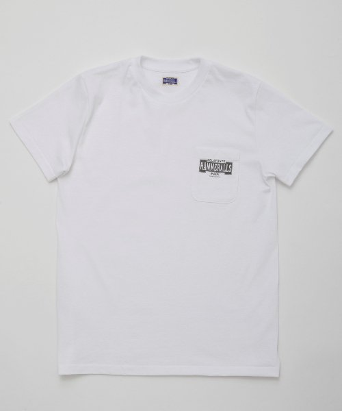 RAGTIME HAMMERALLS TRADE MARK PKT TEE