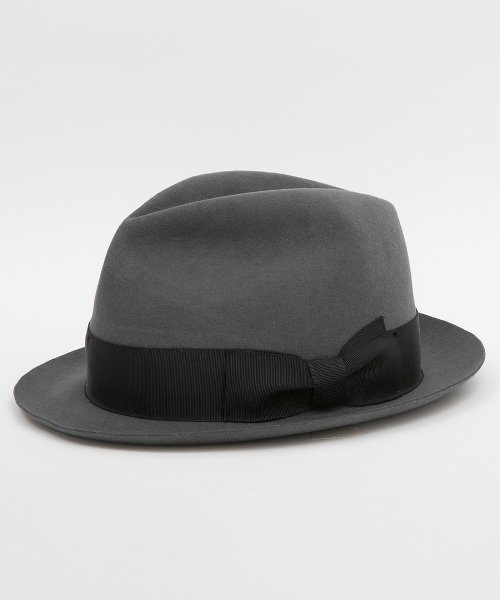 RAGTIME MOB HAT (RABBIT FUR PLAIN)