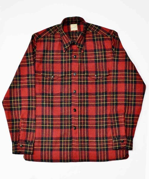 RAGTIME PLAID FLANNEL SHIRTS