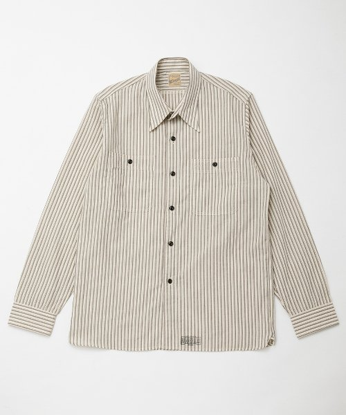 RAGTIME TRIPLE STITCH SHIRTS STRIPE L/S