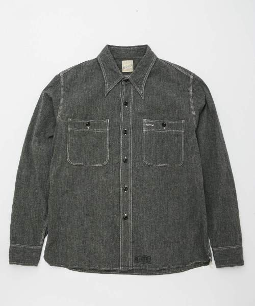 RAGTIME TRIPLE STITCH SHIRTS CHAMBRAY L/S