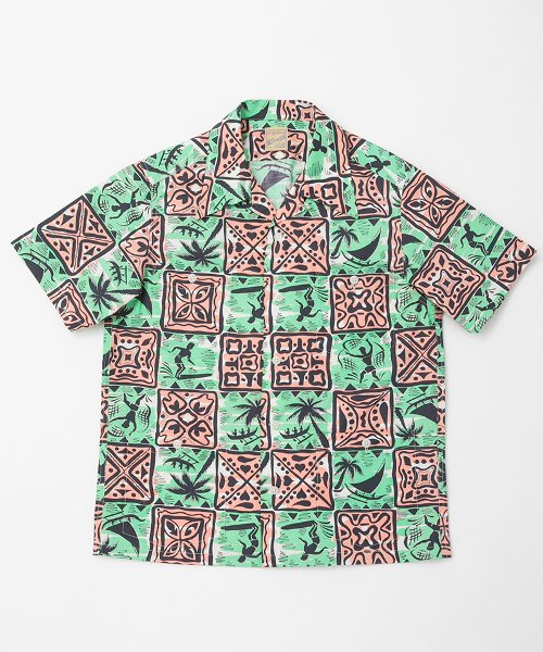 RAGTIME HAWAIIAN HOLLYWOOD LEISURE SHIRTS S/S