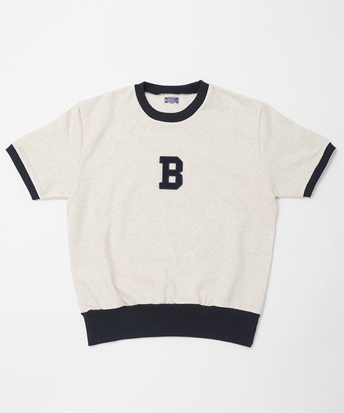 RAGTIME ATHLETIC SHORT SLEEVE SWEAT SHIRTS