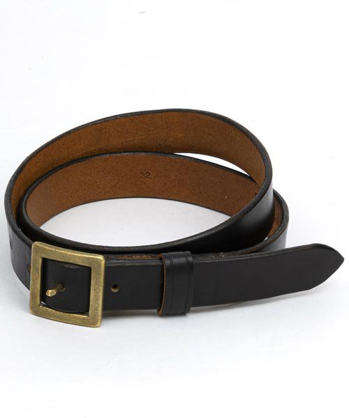 RAGTIME LEATHER NARROW BELT 25mm 2019AW
