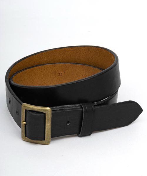 RAGTIME LEATHER BELT 30mm 2019AW