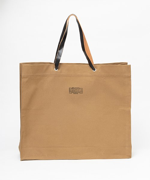 RAGTIME CANVAS SHOPPING BAG   (WATER PROOF PARAFFIN COTTON CANVAS )