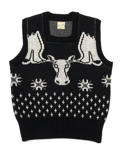 <img class='new_mark_img1' src='https://img.shop-pro.jp/img/new/icons20.gif' style='border:none;display:inline;margin:0px;padding:0px;width:auto;' />RAGTIME MOOSE SQUARE NECK VEST