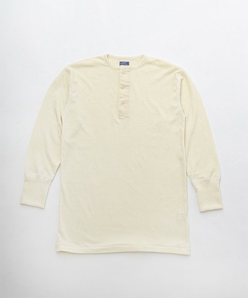 RAGTIME BANDED NECK LONG SLEEVE