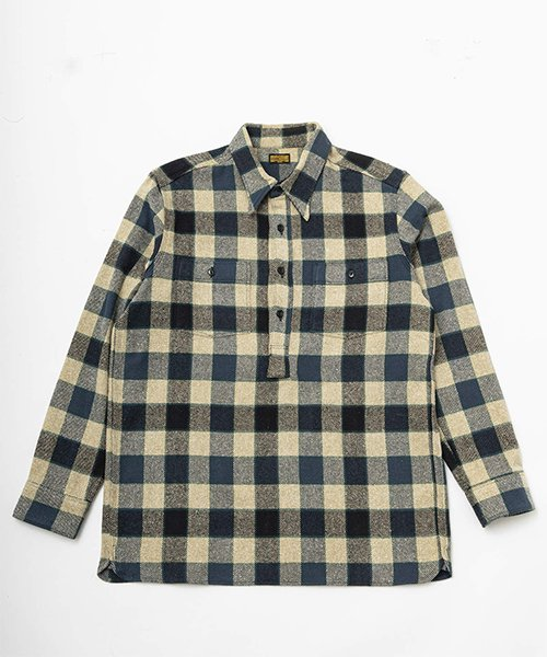 RAGTIME PULL OVER PLAID FLANNEL SHIRTS