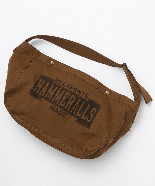 RAGTIME HERRINGBONE NEWSPAPER BAG   (HAMMERALLS )