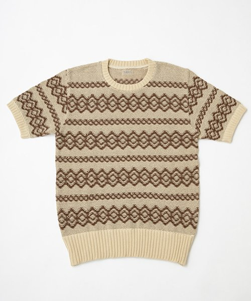 RAGTIME ARGYLE CABLE KNIT