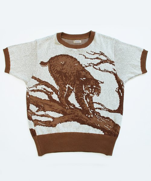 RAGTIME  MOUNTAIN CAT COTTON SWEATER