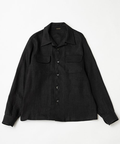 RAGTIME ONI LINEN OPEN SHIRTS