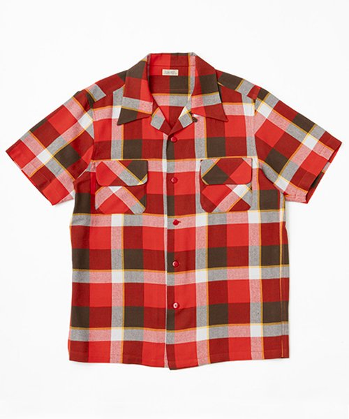 RAGTIME OG PLAID RAYON S/S SHIRTS