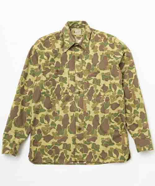 RAGTIME TRIPLE STITCH SHIRTS DH CAMO