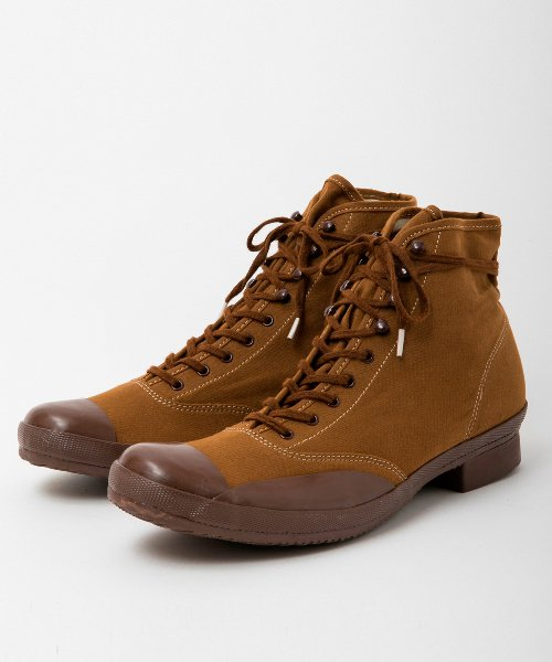 <img class='new_mark_img1' src='https://img.shop-pro.jp/img/new/icons20.gif' style='border:none;display:inline;margin:0px;padding:0px;width:auto;' />RAGTIME CAP TOE CANVAS BOOTS (SAMPLE)