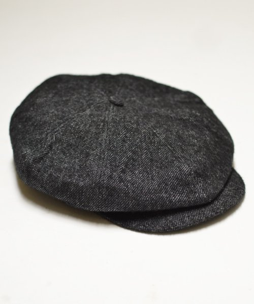 RAGTIME PEAKY HAT LINEN WOOL MIX