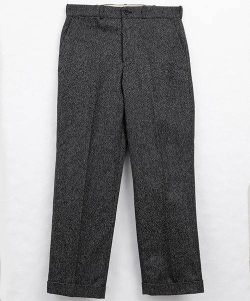 RAGTIME CINCHBACK TROUSERS HEAVY BLACK CHAMBRAY
