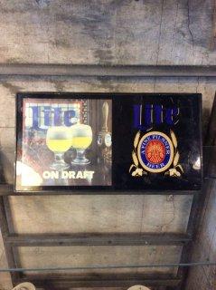 ビンテージ Lite Beer ライトサイン