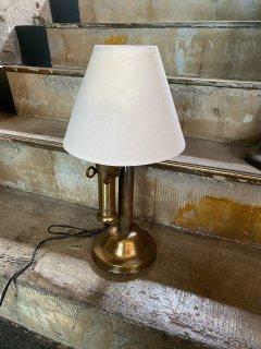 アンティークテーブルランプ 電話モチーフ