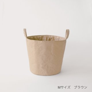 和紙の弱点を克服した新素材、ナオロンのランドリーボックス(Mサイズ)/SIWA | 紙和