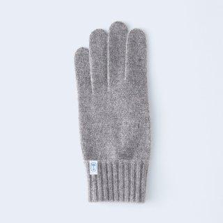 ふんわり手に優しいカシミヤ手袋(ゆったりサイズ・tenjiku・ブラウンベージュ)/tet.