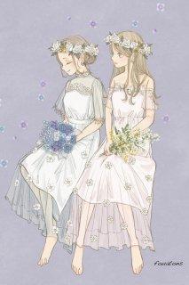 花のリング/nico design