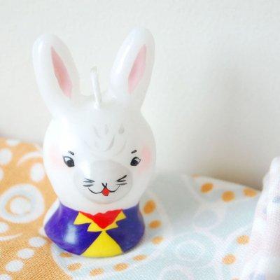 pichio candle(ピチオキャンドル) ウサギ 絵付けキャンドル
