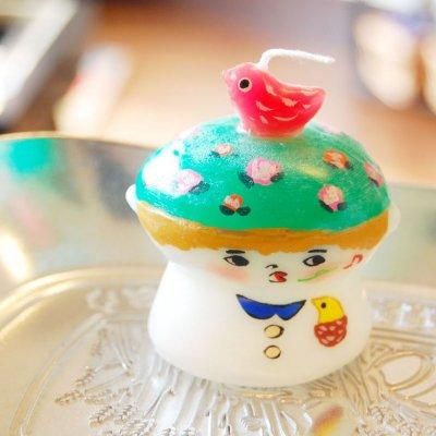 pichio candle(ピチオキャンドル) 男の子 絵付けキャンドル