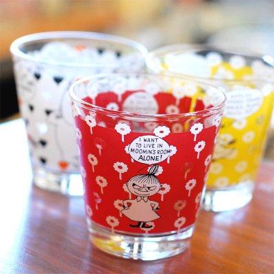 MOOMIN(ムーミン) コミックスパターン ソフィア グラス