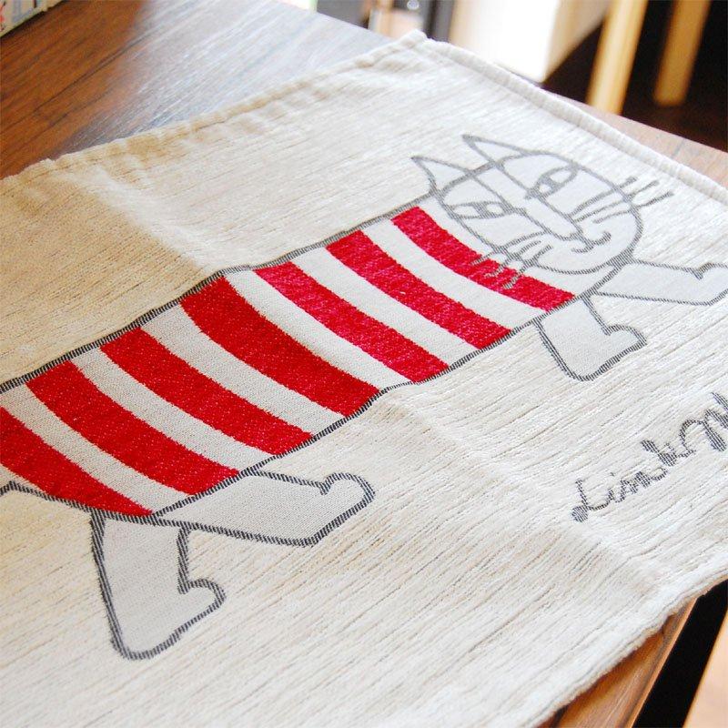 LISA LARSON(リサラーソン) ゴブラン織りランチョンマット マイキー