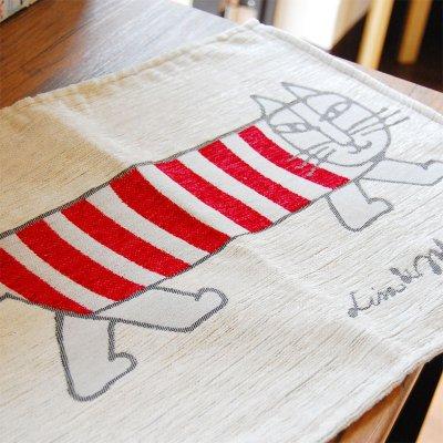 LISA LARSON(リサラーソン) ゴブラン織り ランチョンマット マイキー