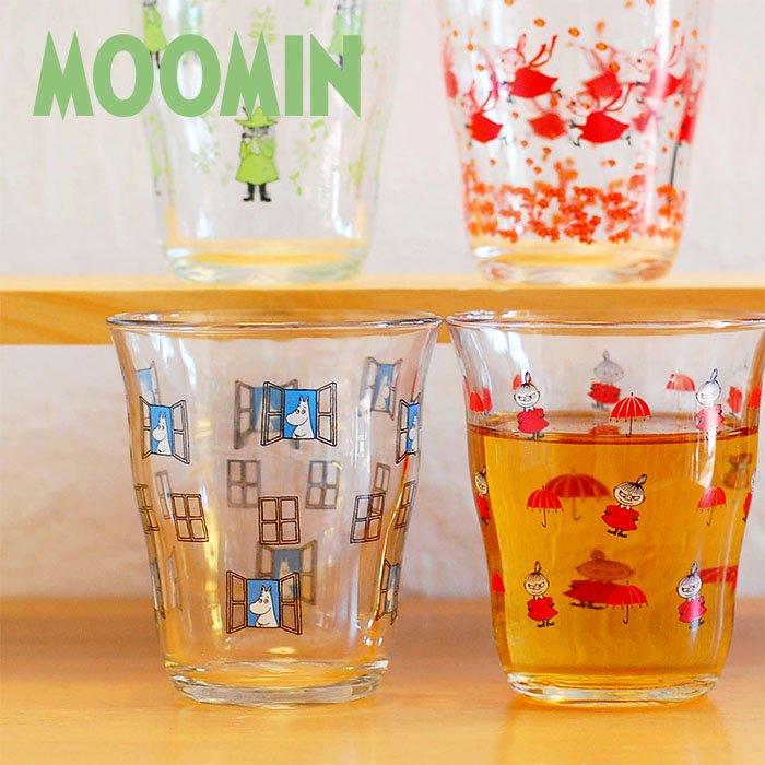 ムーミン(MOOMIN)ガラス タンブラー 250ml