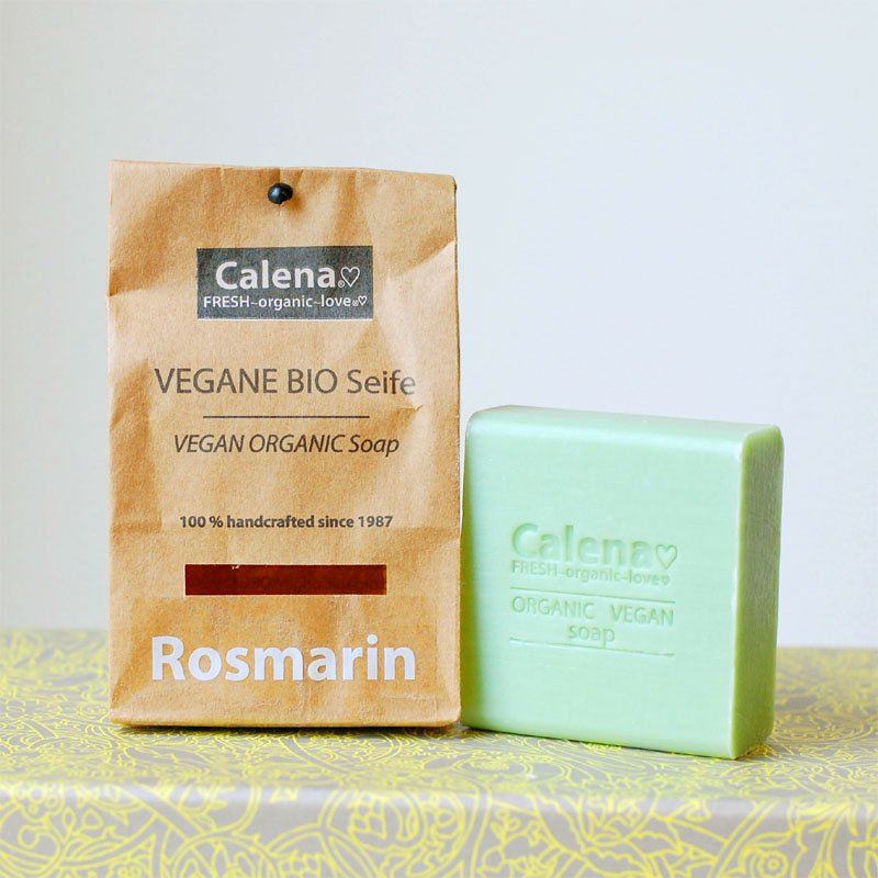 Calena(カレナ)ビーガンオーガニックソープ ドイツ製ハンドメイド石鹸