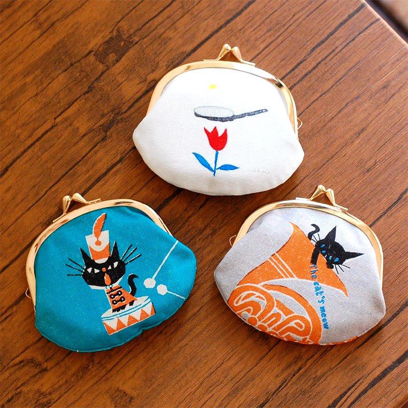 cozyca products(コジカプロダクツ)日本製 デザイナーズがま口3.3寸