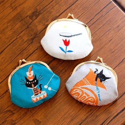 cozyca products 日本製 デザイナーズ がま口財布 3.3寸