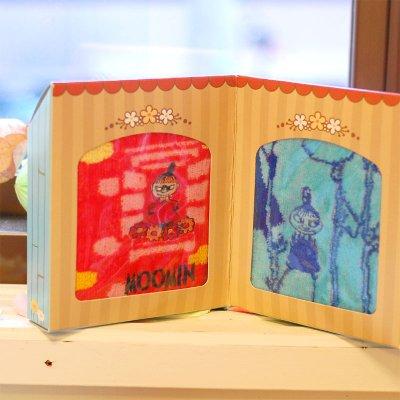 MOOMIN(ムーミン) おうち型 タオル 2枚セットギフトボックス
