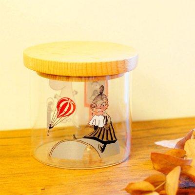 MOOMIN(ムーミン) 耐熱ガラスキャニスター 密閉瓶 容器500cc