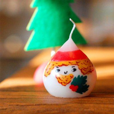 pichio candle(ピチオキャンドル) クリサンタ 絵付けキャンドル