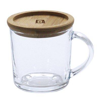 smile ガラスマグ 250ml マグカップ コップ 耐熱ガラス 保温 コースター 食器