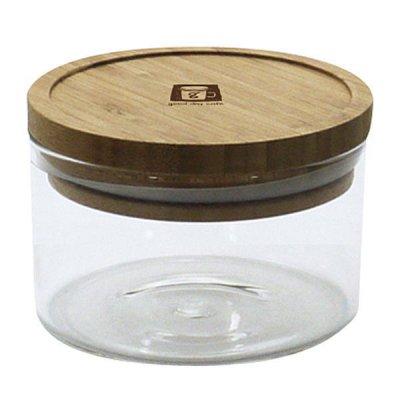 耐熱ガラスジャー 0.25L 密閉瓶 キャニスター 調味料入れ 収納