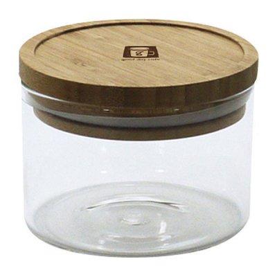 耐熱ガラスジャー 0.2L 密閉瓶 キャニスター 調味料入れ 収納