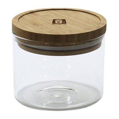 耐熱ガラスジャー 0.3L 密閉瓶 キャニスター 調味料入れ 収納