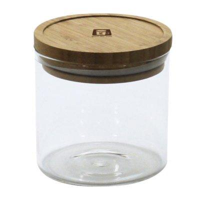 耐熱ガラスジャー 0.63L 密閉瓶 キャニスター 調味料入れ 収納
