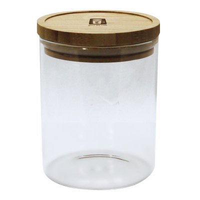 耐熱ガラスジャー 0.75L 密閉瓶 キャニスター 調味料入れ 収納