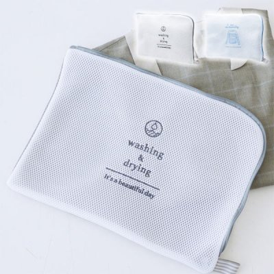 W/D ランドリーネット フラット 洗濯ネット シャツ