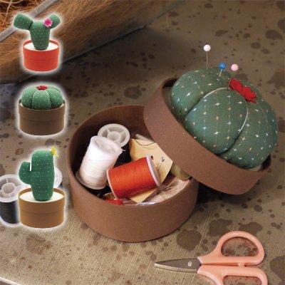 カクタスソーイングセット 裁縫道具 セット かわいい おもしろグッズ インテリア