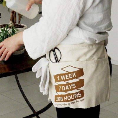 ツールエプロン レディース メンズ キッチン シンプル カフェ